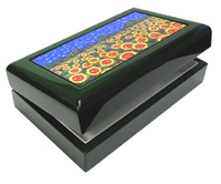 Premium Lacquer Box - Hunter Green